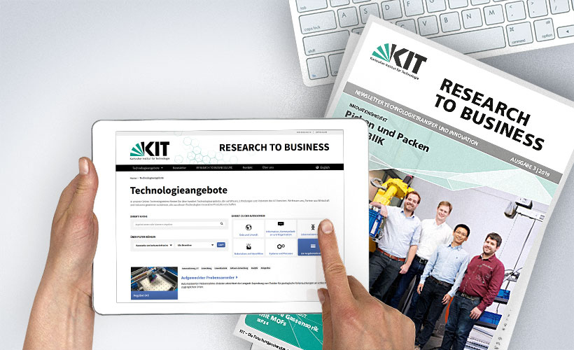 Tablet Plattform RESEARCH TO BUSINESS