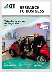 Titelblatt Newsletter RESEARCH TO BUSINESS
